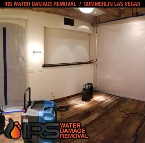 IRS Water Damage Removal Repair Restoration Las Vegas Summerlin 139
