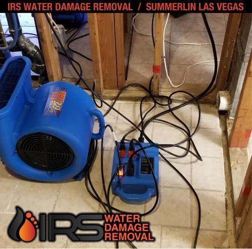 IRS Water Damage Removal Repair Restoration Las Vegas Summerlin 141