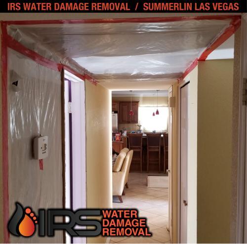 IRS Water Damage Removal Repair Restoration Las Vegas Summerlin 145