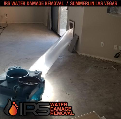IRS Water Damage Removal Repair Restoration Las Vegas Summerlin 153