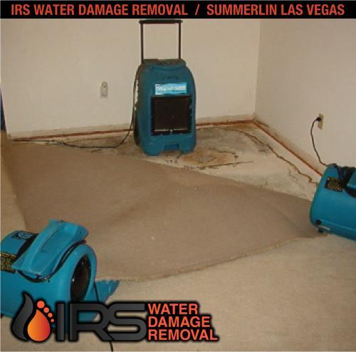 IRS Water Damage Removal Repair Restoration Las Vegas Summerlin 178